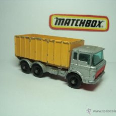 Coches a escala: MATCHBOX LESNEY SERIES Nº47 CAMION DAF TIPPER CONTAINER TRUCK AÑOS 60 1,64. Lote 48049334