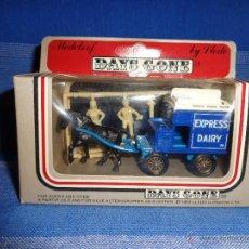 Carros em escala: DAYS GONE - ANTIGUO COCHE DEL AÑO 1983 MADE IN ENGLAND BY LLEDO -EXPRESS DAIRY - NO JUGADO 111-1. Lote 48443050