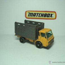 Coches a escala: CAMION DODGE CATTLE TRUCK DE MATCHBOX LESNEY SERIES 1,64 AÑOS 60. Lote 48523259