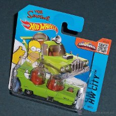 Coches a escala: COCHE HOMER SIMPSON (LOS SIMPSONS) - HOT WHEELS. Lote 194910275