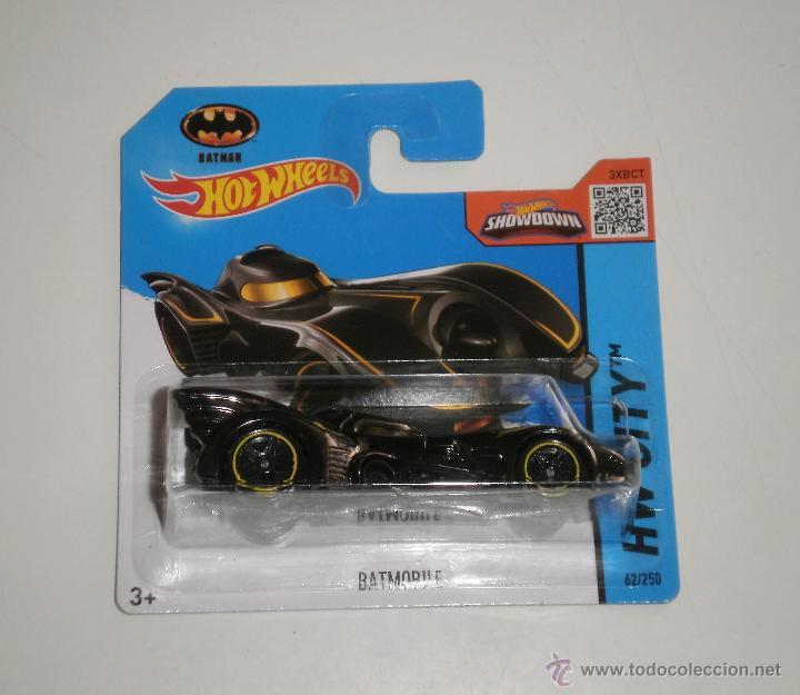 Juguete Coche Hot Wheels Batman Batmovil Pelic Comprar Coches En