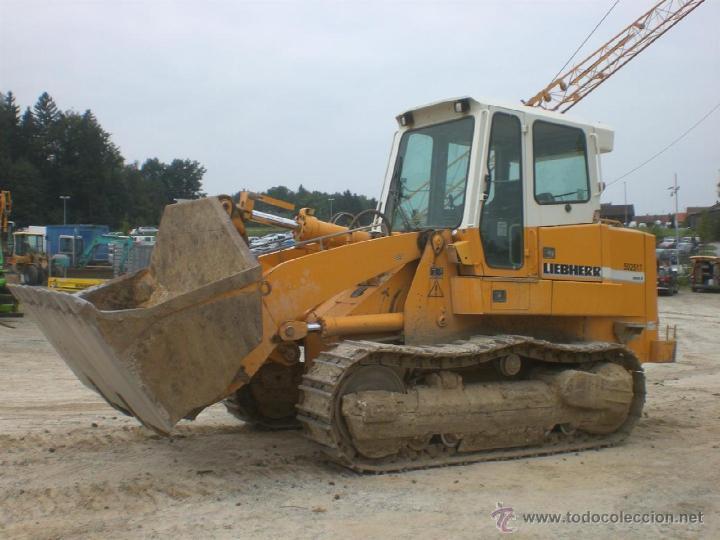 Coches a escala: Pala cargadora sobre cadenas Liebherr LR632 Conrad 1:50 - Foto 7 - 48961001