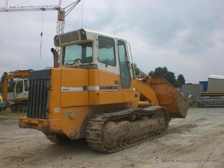 Coches a escala: Pala cargadora sobre cadenas Liebherr LR632 Conrad 1:50 - Foto 9 - 48961001