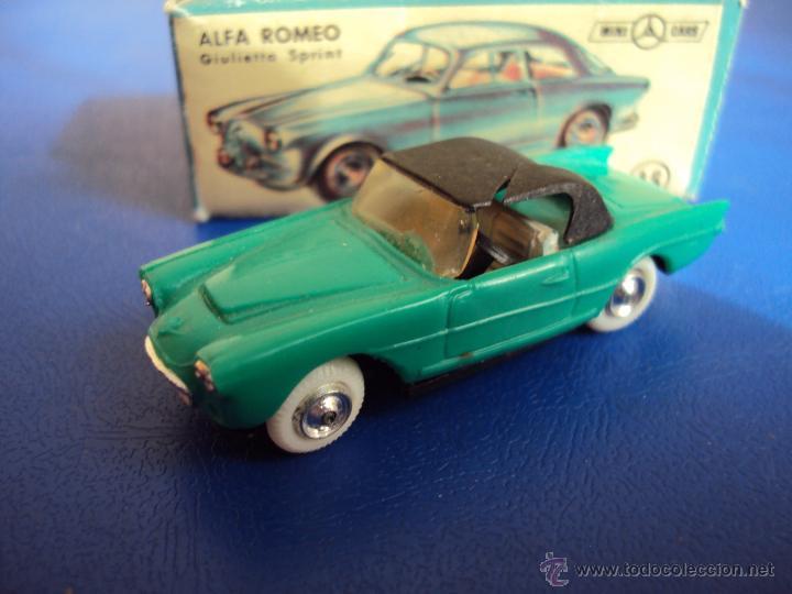 (JU-079)SEAT 1500 MINI CARS,CON CAJA DE ALFA ROMEO (Juguetes - Coches a Escala Otras Escalas )