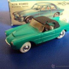 Coches a escala: (JU-079)SEAT 1500 MINI CARS,CON CAJA DE ALFA ROMEO. Lote 49998662