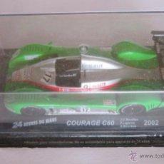Coches a escala: COCHE 24 HORAS LE MANS, COURAGE C60 2002, EN CAJA. CC. Lote 50402274
