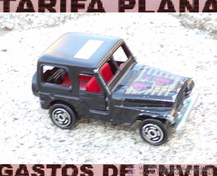 jeep escala 1:54 de majorette nº 268 usado sin - comprar coches en