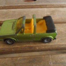 Coches a escala: COCHE A ESCALA DE LA MARCA SIKU ALEMAN VW GOLF GLS MIDE 7 CM. Lote 50640156