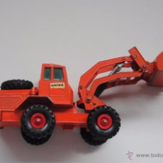 Coches a escala: MATCHBOX HATEA TRACTOR SHOVEL KING SIZE Nº K3 MADE IN ENGLAND BY LESNEY. Lote 50657779