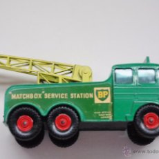 Coches a escala: MATCHBOX SERIES KING SIZE FODEN BREAKDOWN TRACTOR Nº 12 MADE IN ENGLAND BY LESNEY. Lote 50657853