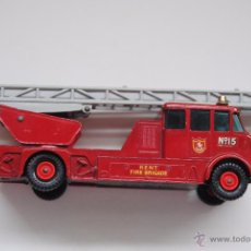 Coches a escala: MATCHBOX CAMION DE BOMBEROS MERRYWEATCHER FIRE ENGINE SERIE KING SIZE Nº 15 MADE IN ENGLAND BY LESNE. Lote 50657900