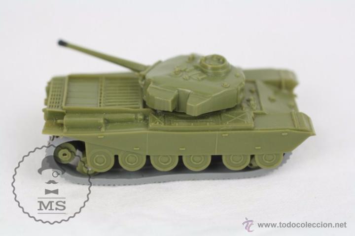 Coches a escala: Vehículo de Anguplas, Mini Cars - Nº 70 - Tanque Militar - Verde - Nº 2. Serie GB - Foto 2 - 51150797