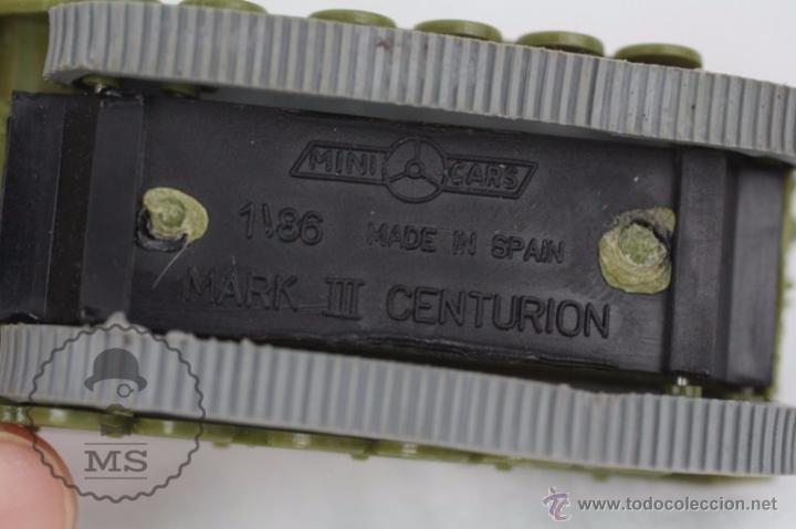 Coches a escala: Vehículo de Anguplas, Mini Cars - Nº 70 - Tanque Militar - Verde - Nº 2. Serie GB - Foto 3 - 51150797