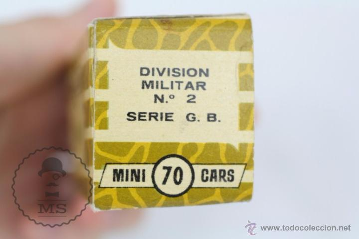 Coches a escala: Vehículo de Anguplas, Mini Cars - Nº 70 - Tanque Militar - Verde - Nº 2. Serie GB - Foto 4 - 51150797
