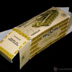 Coches a escala: CAJA VACÍA EMPTY BOX TANQUE CENTURIÓN Nº 70, ESC. 1/86 H0, ANGUPLAS MINI-CARS. ORIGINAL AÑO 1961.. Lote 51441188