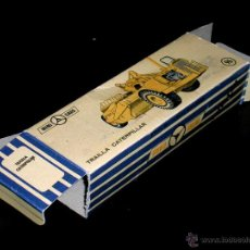 Coches a escala: CAJA VACÍA EMPTY BOX TRAILLA CATERPILLAR Nº 96, ESC. 1/86 H0, ANGUPLAS MINI-CARS. ORIGINAL AÑO 1962.. Lote 51646837