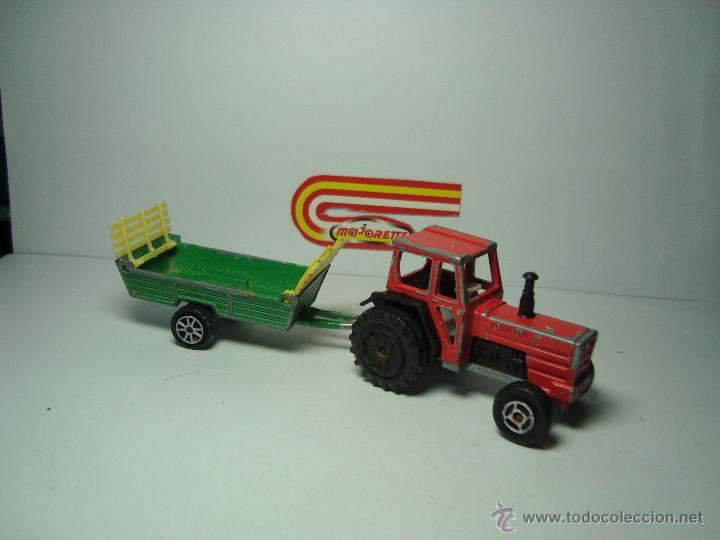 Antiguo Para 64 Remolque Con Tractor Majorette Paja 1 De NOy0nvm8w