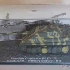 Coches a escala: TANQUE PANZERJAGER V JAGDPANTHER (SD.KFZ. 173) 655 SCH. PZ. ABT. OLDENBURG (GERMANY) - 1945, EN. CC. Lote 52424593