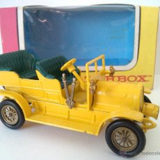 Coches a escala: LESNEY MATCHBOX MODELS OF YESTERYEAR Y-16 1904 SPYKER CON LA CAJA ORIGINAL. Lote 52446888