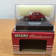 Coches a escala: BREKINA CITROEN TRACTION AVANT ESCALA 1:87. Lote 52729947