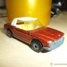 Coches a escala: LESNEY-ENGLAND. 1973.MERCEDES 350 SL.MATCHBOX SUPERFAST Nº 6.. Lote 53020199