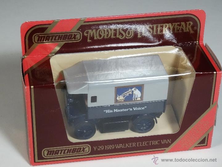 MATCHBOX MODELS OF YESTERYEAR Y29 1919 CAMIONNETTE WALKER (Juguetes - Coches a Escala Otras Escalas )