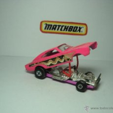 Coches a escala: DODGE DRAGSTER DE MATCHBOX SUPERFAST 1,64. Lote 37259819