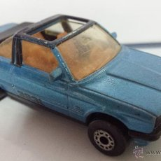 Coches a escala: MATCHBOX BMW 323I CABRIOLET 1985 - MADE IN MACAU - E 1:58 - ENVÍO GRATIS A ESPAÑA. Lote 53684061