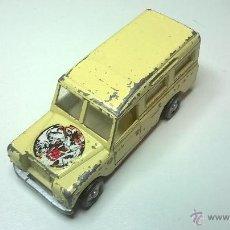 Carros em escala: COCHE EN MINIATURA DE METAL, LAND ROVER, MIRA, Nº 165. Lote 53828406