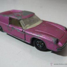 Coches a escala: MATCHBOX SF5 LOTUS EUROPA VINTAGE 1969 DIECAST CAR LESNEY ENGLAND 1:64. Lote 54021306