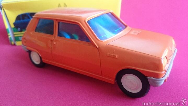 Coches a escala: Renault 5 naranja de plasticos albacete - Foto 2 - 54248129