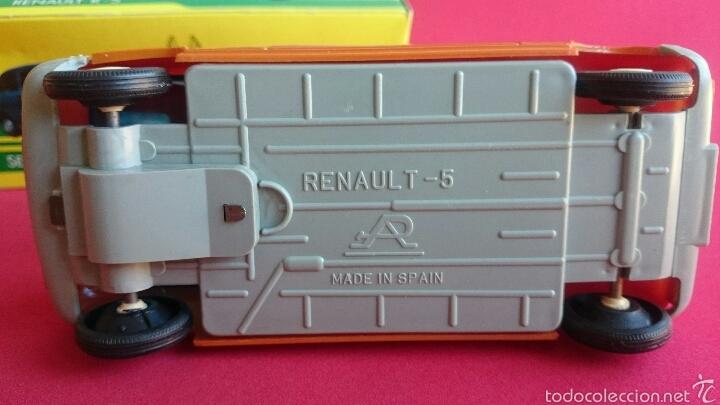 Coches a escala: Renault 5 naranja de plasticos albacete - Foto 4 - 54248129