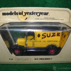 MATCHBOX MODELS OF YESTERYEAR - Y-12 1912 FORD MODEL T - SUZE