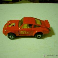 Coches a escala: COCHE PORSCHE 911 TURBO DE MATCHBOX 1/64. Lote 54579745