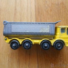 Modellautos - CAMION MATCHBOX SERIES Numero 51, Wheel Tipper, 1969 Lesney MADE IN ENGLAND 1969 Ergomatic Cab - 54989754