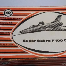 Coches a escala: AVION MARCA EKO SUPER SABRE F 100 C. Lote 55365490