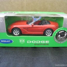Coches a escala: DODGE VIPER - WELLY NEX - COCHE MINIATURA - ESCALA 1:60.. Lote 56634218