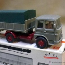 Coches a escala: CAMION DE PLASTICO, LKW LANGPRITSCHE MAN, SATTELZUG, WIKING 517, ESC 1/87, ALEMANIA. Lote 57251934