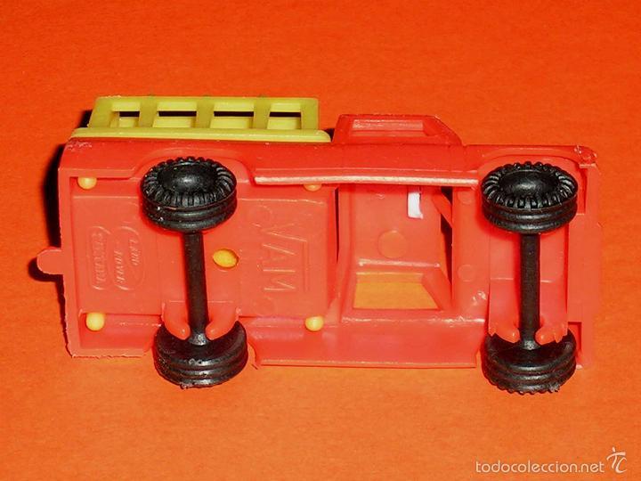 Coches a escala: Land Rover Santana Safari, plástico esc. 1/55, Vam Fabricado en España Zaragoza, original años 70. - Foto 3 - 57403448