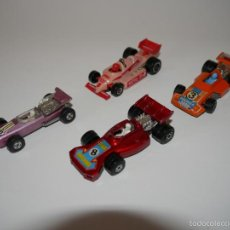 Coches a escala: LOTE 4X FORMULA 1 COCHES DIE-CAST MATCHBOX ESCALA 1:64 3 INCHES. Lote 57477039