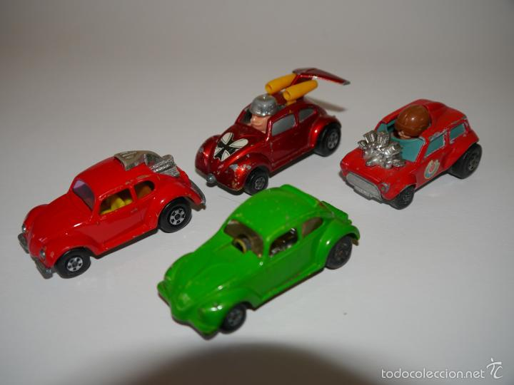 LOTE 4X COCHES DIE-CAST MATCHBOX ESCALA 1:64 3 INCHES (Juguetes - Coches a Escala Otras Escalas )