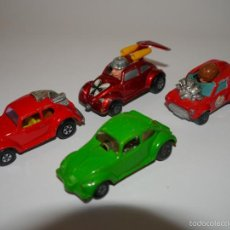 Coches a escala: LOTE 4X COCHES DIE-CAST MATCHBOX ESCALA 1:64 3 INCHES. Lote 57477054