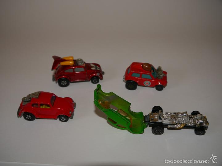 Coches a escala: LOTE 4x COCHES DIE-CAST MATCHBOX ESCALA 1:64 3 INCHES - Foto 3 - 57477054