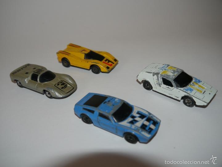 LOTE 4X SUPER G.T. GT DIE-CAST MATCHBOX ESCALA 1:64 3 INCHES (Juguetes - Coches a Escala Otras Escalas )
