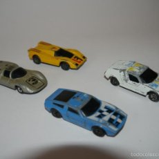 Coches a escala: LOTE 4X SUPER G.T. GT DIE-CAST MATCHBOX ESCALA 1:64 3 INCHES. Lote 57477449