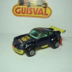 Coches a escala: PORSCHE 911 TURBO RALLYE GUISVAL CAMPEON 1,64. Lote 57692694
