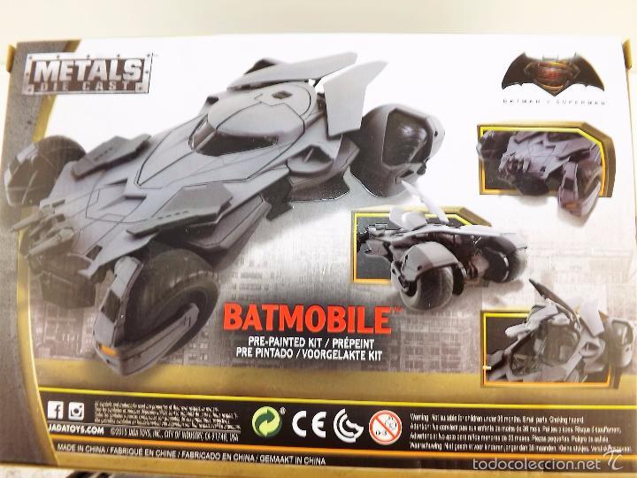 Coches a escala: Batmobile Batman Vs Superman 2015 (nuevo a estrenar) - Foto 13 - 161197294