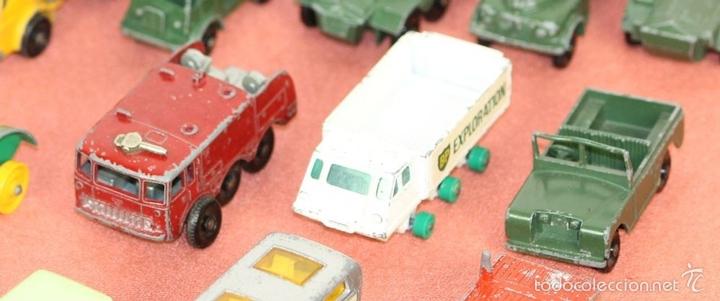 Coches a escala: COLECCIÓN DE 30 VEHICULOS EN METAL. MATCHBOX LESNEY. ESPAÑA.CIRCA 1960. - Foto 5 - 58125885