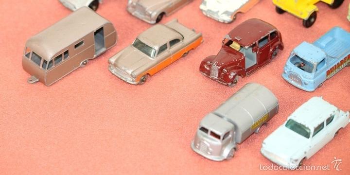 Coches a escala: COLECCIÓN DE 30 VEHICULOS EN METAL. MATCHBOX LESNEY. ESPAÑA.CIRCA 1960. - Foto 8 - 58125885