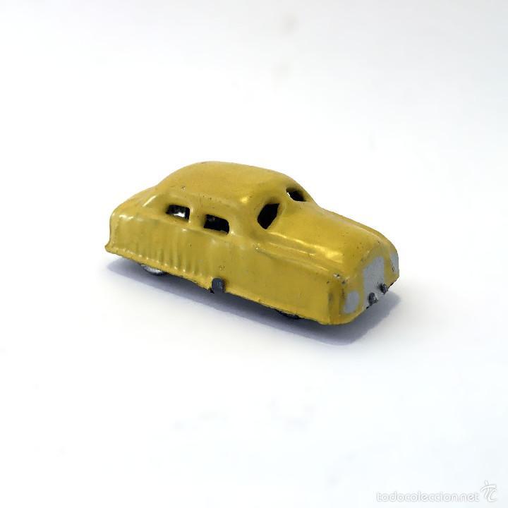 Cochecito Hojalata Metal Coche Antiguo Juguete Interesante En Amarillo Artesanal Estilo Americano De GUzVpMqS